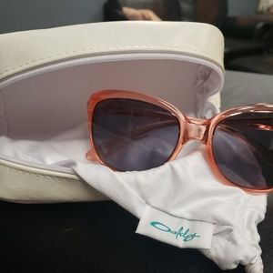Oakley sunglasses - peachy pink frames
